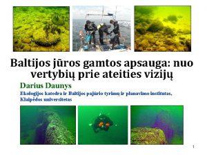 Baltijos jros gamtos apsauga nuo vertybi prie ateities