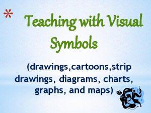 Teaching with Visual Symbols drawings cartoons strip drawings