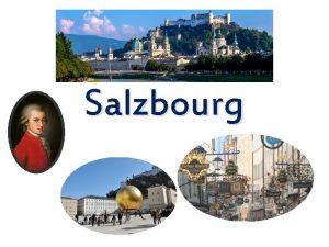 Salzbourg Une ville historique Un peu dhistoire partir