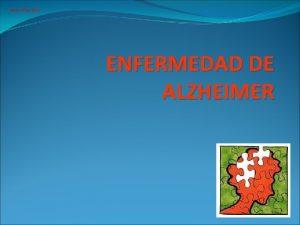 Arpon Files 2012 ENFERMEDAD DE ALZHEIMER Arpon Files