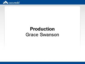 Production Grace Swanson Eat That Frog By Brian