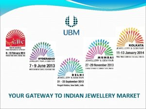 YOUR GATEWAY TO INDIAN JEWELLERY MARKET Indian Jewellery