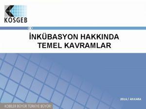 NKBASYON HAKKINDA TEMEL KAVRAMLAR 2016 ANKARA ERK TEMEL