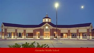 Alexander Middle School Alexander Middle School Administration Brad