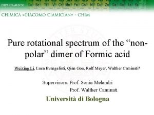 Pure rotational spectrum of the nonpolar dimer of