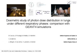 Dosimetric study of photon dose distribution in lungs