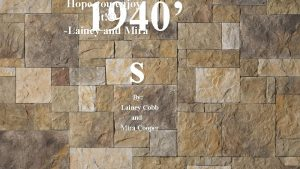 1940 s Hope you enjoy it Lainey and