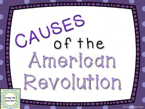 of the American Revolution Erin Kathryn 2014 French