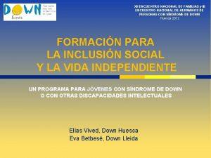 XII ENCUENTRO NACIONAL DE FAMILIAS y III ENCUENTRO
