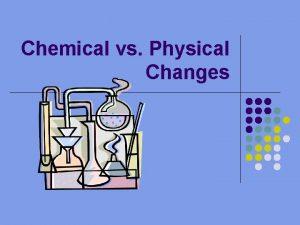 Chemical vs Physical Changes Physical Changes P 68