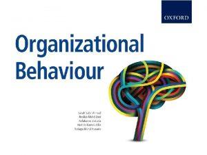 Organizational Behaviour Oxford Fajar Sdn Bhd 008974 T