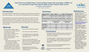 Depo Provera and Weight Gain A crosssectional study