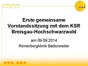Kreisseniorenrat Lrrach Bernhard Spth Vorsitzender Erste gemeinsame Vorstandssitzung