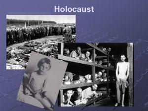 Holocaust Termin holocaust Holocaust caopalenie termin angielski pochodzcy