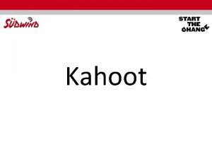 Kahoot Prinzipien der Agenda 2030 fr Nachhaltige Entwicklung