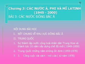 Chng 3 CC NC PHI V M LATINH