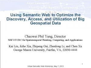 Using Semantic Web to Optimize the Discovery Access