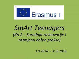 Sm Art Teenagers KA 2 Suradnja za inovacije