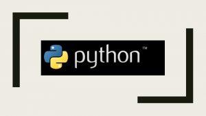 HISTORIA Python fue creado a finales de los