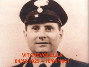 VITO IEVOLELLA 04121929 10091981 La sua vita Vito