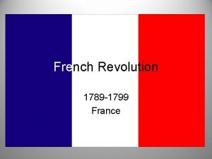 French Revolution 1789 1799 France French Society Divided