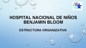 HOSPITAL NACIONAL DE NIOS BENJAMIN BLOOM ESTRUCTURA ORGANIZATIVA