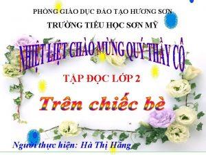 PHNG GIO DC O TO HNG SN TRNG