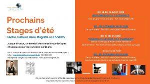 DU 10 AU 14 AOT 2020 ARTS MAGIQUES
