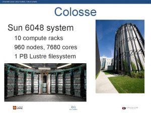 Universit Laval Calcul Qubec Calcul Canada 1 Colosse