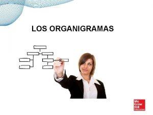 LOS ORGANIGRAMAS DEFINICIN DE ORGANIGRAMA Un organigrama es