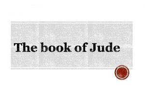 1 Who wrote the book Jude brother of