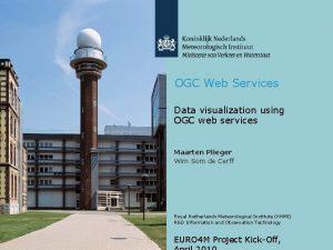 OGC Web Services Data visualization using OGC web