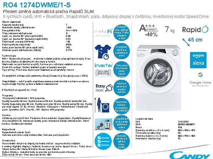 RO 4 1274 DWME1 S Pedem plnn automatick