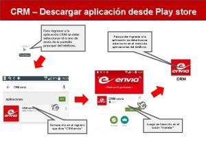 CRM Descargar aplicacin desde Play store Para ingresar