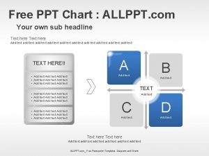 Free PPT Chart ALLPPT com Your own sub