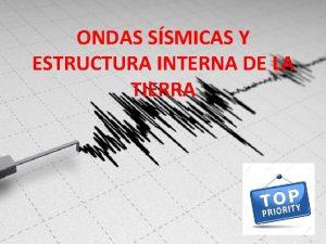 ONDAS SSMICAS Y ESTRUCTURA INTERNA DE LA TIERRA