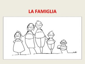 LA FAMIGLIA ART 29 cost 1 comma La