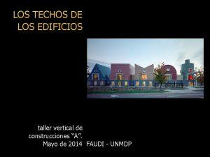 LOS TECHOS DE LOS EDIFICIOS taller vertical de