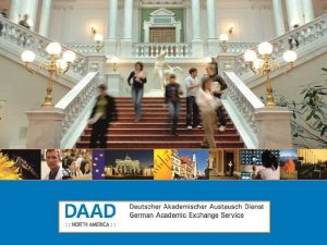 What is DAAD German national agency for international