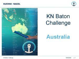 KN Baton Challenge Australia KN Baton Challenge 10302020