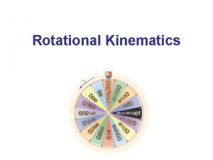 Rotational Kinematics Angular Position Velocity and Acceleration Angular