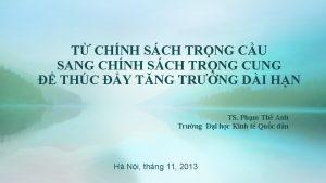 T CHNH SCH TRNG CU SANG CHNH SCH