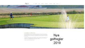 Nya golfregler 2019 Tanken med att gra nya