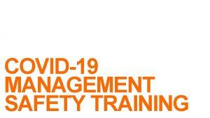 Safety COVID19 MANAGEMENT SAFETY TRAINING Safety Agenda Quarantine