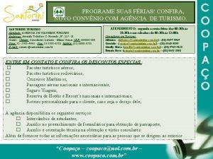 PROGRAME SUAS FRIAS CONFIRA NOVO CONVNIO COM AGNCIA