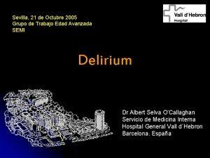 Sevilla 21 de Octubre 2005 Grupo de Trabajo