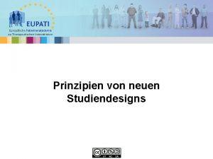 Europische Patientenakademie zu Therapeutischen Innovationen Prinzipien von neuen