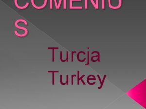 COMENIU S Turcja Turkey Prowincja Sakarya tur Sakarya