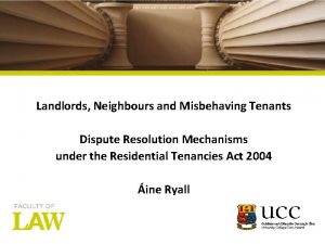 Columns Picture here Landlords Neighbours and Misbehaving Tenants