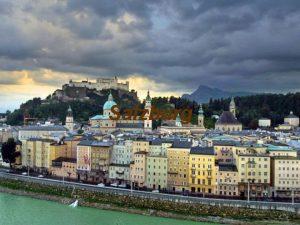 Salzburg Wo liegt die Stadt Die Stadt Salzburg